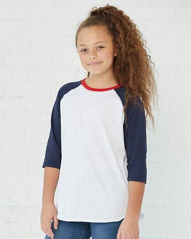6130 LA T Youth Vintage Baseball T-Shirt Catalog