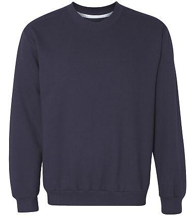 71000 Anvil Men's Fashion Crew Neck Sweatshirt Navy