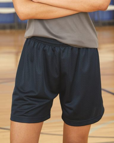 7216 Badger Ladies' Mesh/Tricot 5-Inch Shorts Catalog