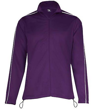 7901 Badger Ladies 100% Polyester Razor Full Zipper Jacket Catalog