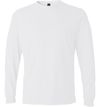 949 Anvil Adult Long-Sleeve Fashion-Fit Tee White
