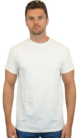 Gildan 5000 G500 Heavy Weight Cotton T-Shirt NATURAL