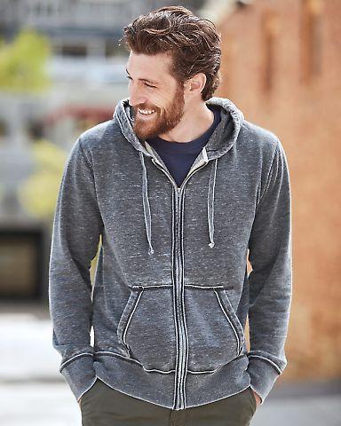 J8916 J-America Adult Vintage Zen Full-Zip Hooded Fleece Catalog