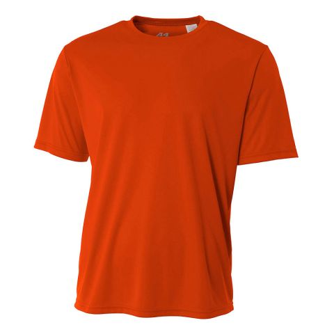 N3142 A4 Adult Cooling Performance Crew Athletic Orange