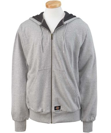 TW382 Dickies Adult Thermal-Lined Hooded Fleece Ja ASH GRAY