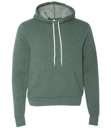 BELLA+CANVAS 3719 Unisex Cotton/Polyester Pullover HEATHER FOREST
