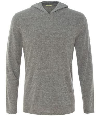 Alternative Apparel 12365 Eco-Jersey Hooded T-Shir ECO GREY