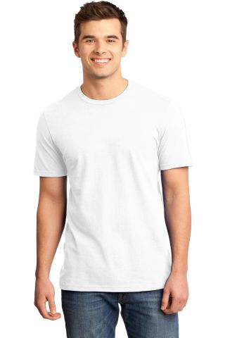 DT6000 District Young Mens Very Important Tee White