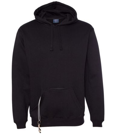 8815 J. America - Tailgate Hooded Sweatshirt Black