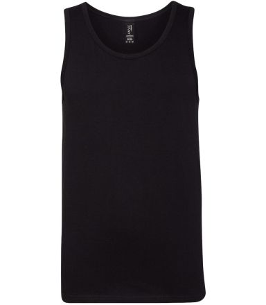 986 Anvil - Lightweight Fashion Tank Black