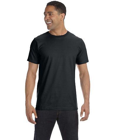 490 Anvil Organic Short Sleeve Fashion Fit Tee BLACK