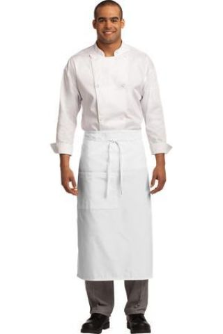 A701 Port Authority® Easy Care Full Bistro Apron with Stain Release Catalog