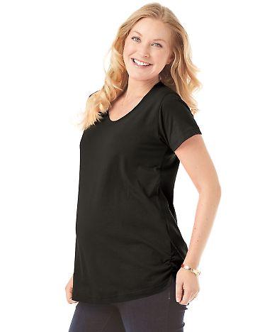 3509 LAT Ladies Fine Jersey Scoopneck Maternity Top Catalog