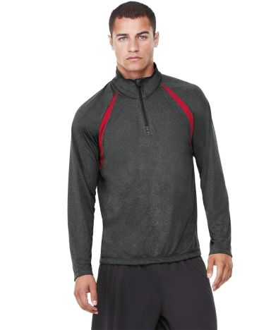 M3026 All Sport Men's Quarter-Zip Lightweight Pullover with Insets Catalog