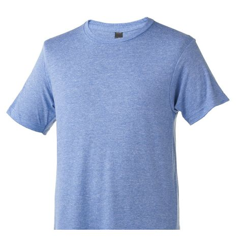 0254TC 254 / Men's Tri Blend Tee Athletic Blue Tri Blend