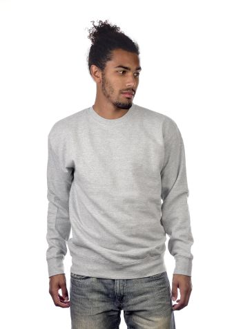 M2450 Cotton Heritage Boston Crew Neck Pullover Athletic Heather