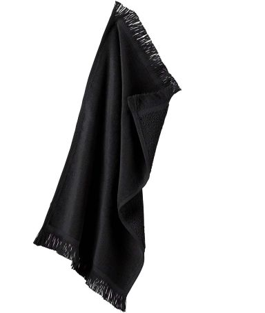 T101 Towels Plus By Anvil Spirit Towel Black