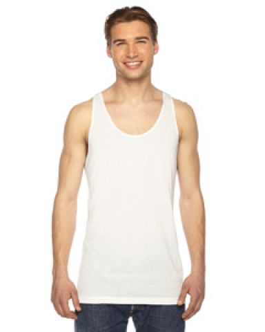 PL408 American Apparel Sublimation Tank Top White (Discontinued)