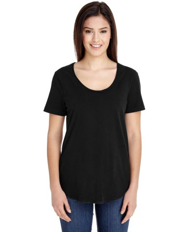 RSA6320 American Apparel Ultra Wash Tee Black (Discontinued)