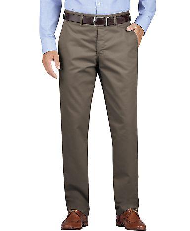 Dickies Workwear WP902 Men's KHAKI Regular Fit Tapered Leg Flat Front Pant RNS PBBL BRN _44