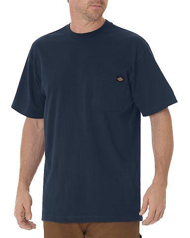 Dickies Workwear WS436 Men's Short-Sleeve Pocket T-Shirt DARK NAVY