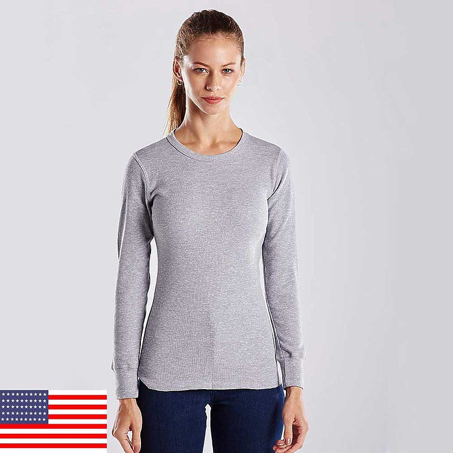 9a8228c8d353 US Blanks US199 Women's Long Sleeve Thermal