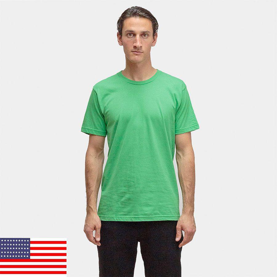 3f18c993 American Apparel 2001 Comparable Los Angeles Apparel 20001 100% Cotton Tee