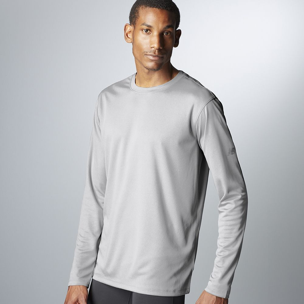 59449aa5ad358 N7119 New Balance Men's Ndurance® Athletic Long-Sleeve T-Shirt ...