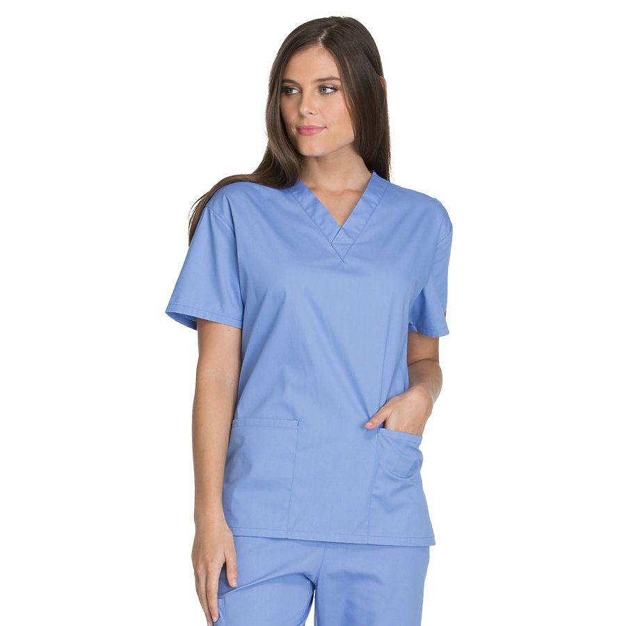 uroczy tania wyprzedaż dobrze out x Dickies Medical 86706 / Missy Fit V-Neck Top