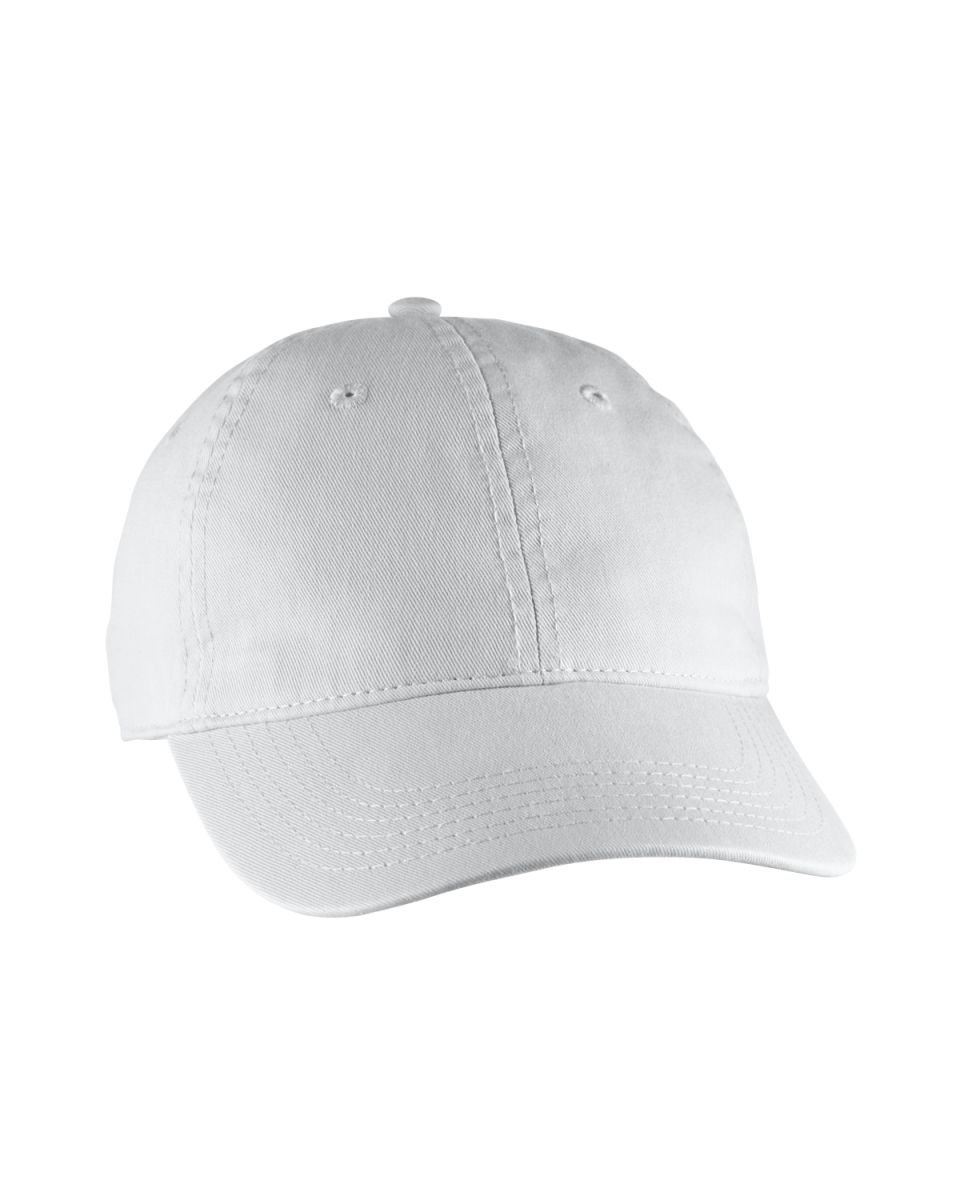 ce402a059e03a ... Comfort Colors 103 Direct Dyed Canvas Baseball Hat White ...