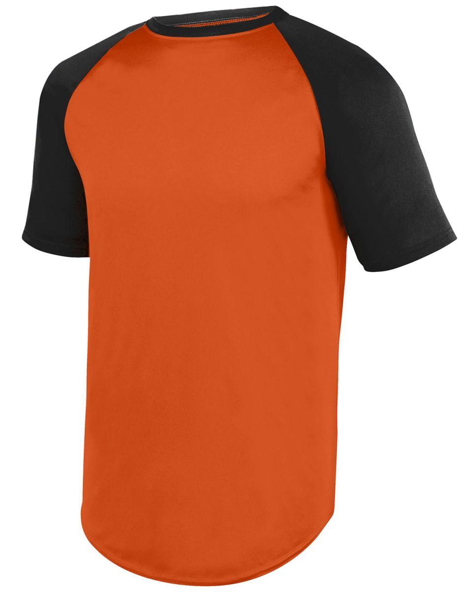 timeless design 83761 ea6d9 Augusta Sportswear 1509 Youth Wicking Short Sleeve Baseball Jersey