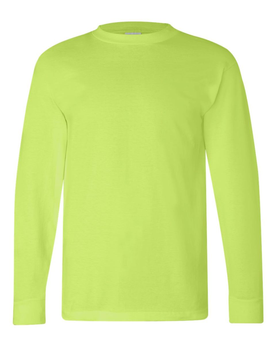 a60ed58ab9f Bayside 100 Cotton Long Sleeve T Shirt - BCD Tofu House