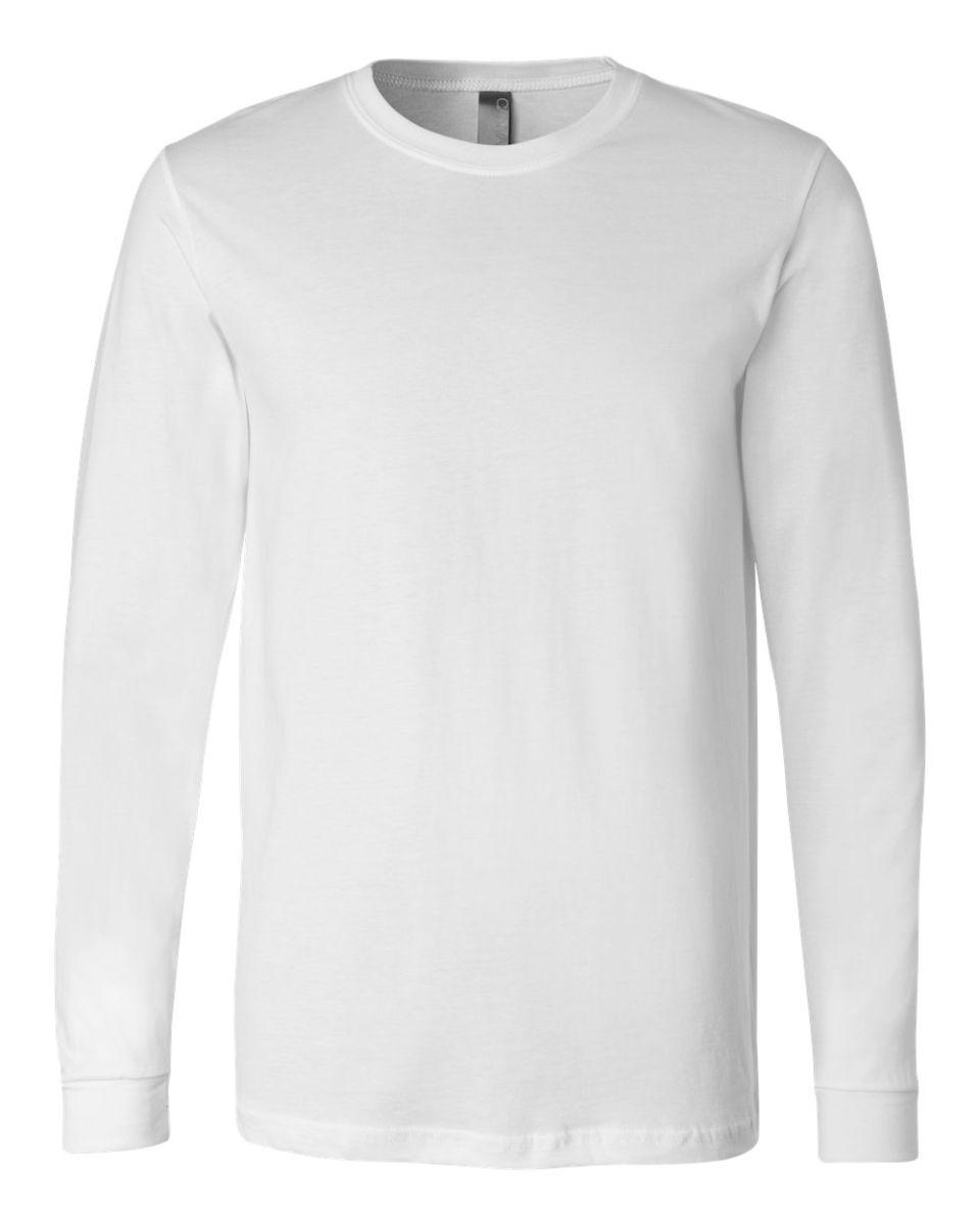 586e8c4a9 BELLA+CANVAS 3501 Long Sleeve T-Shirt WHITE ...