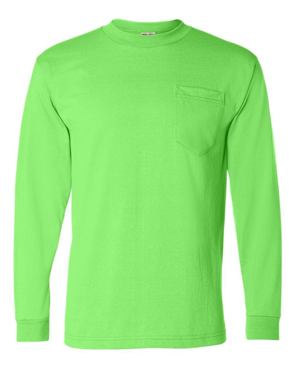 76136e07 Long Sleeve Safety T Shirts With Pocket | Saddha