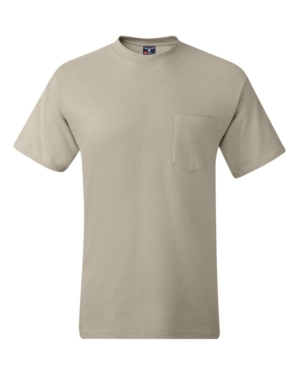 100% satisfaction wide range various styles 5190 Hanes® Beefy®-T with Pocket