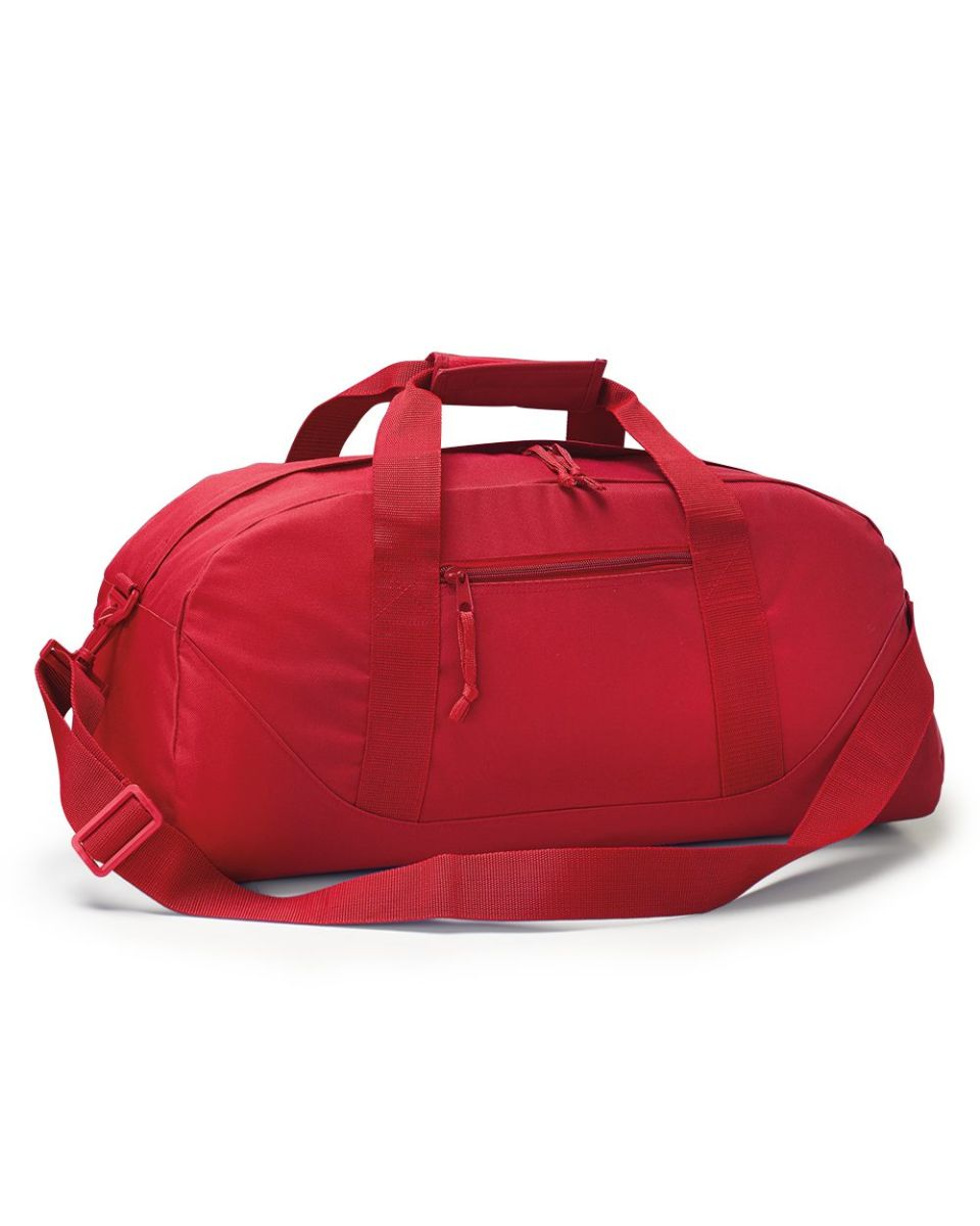 8806 Liberty Bags Large Recycled Polyester Square Duffel Bag