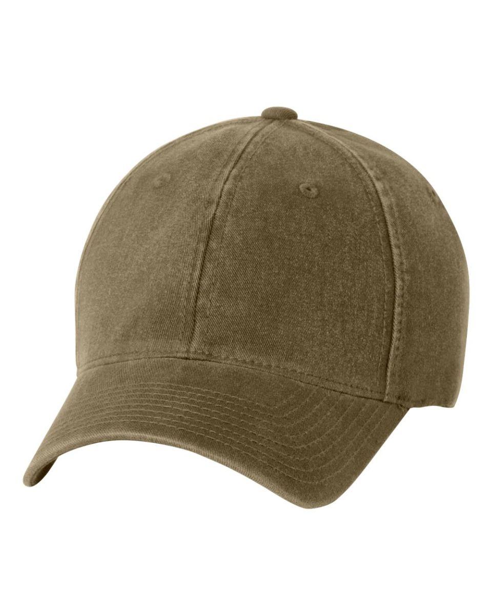 f9bc4e7af 6997 Yupoong Flexfit Garment-Washed Cotton Cap LODEN ...