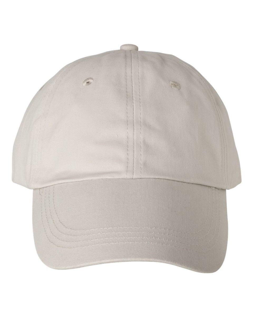 c3052fdb887 ... Anvil 176 Low-Profile Brushed Dad Hat Wheat  Khaki ...