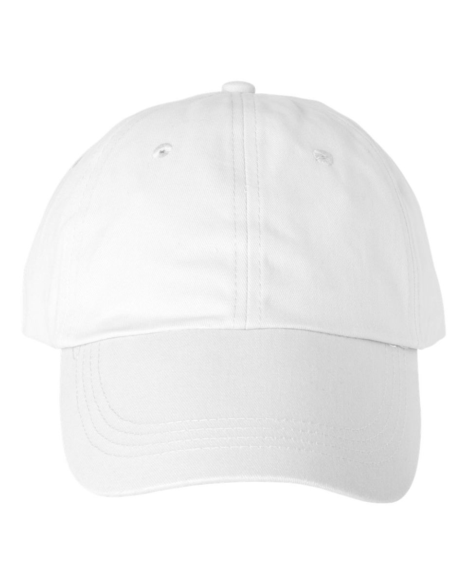 ... Anvil 176 Low-Profile Brushed Dad Hat White  Wheat ... 608665efbe9f