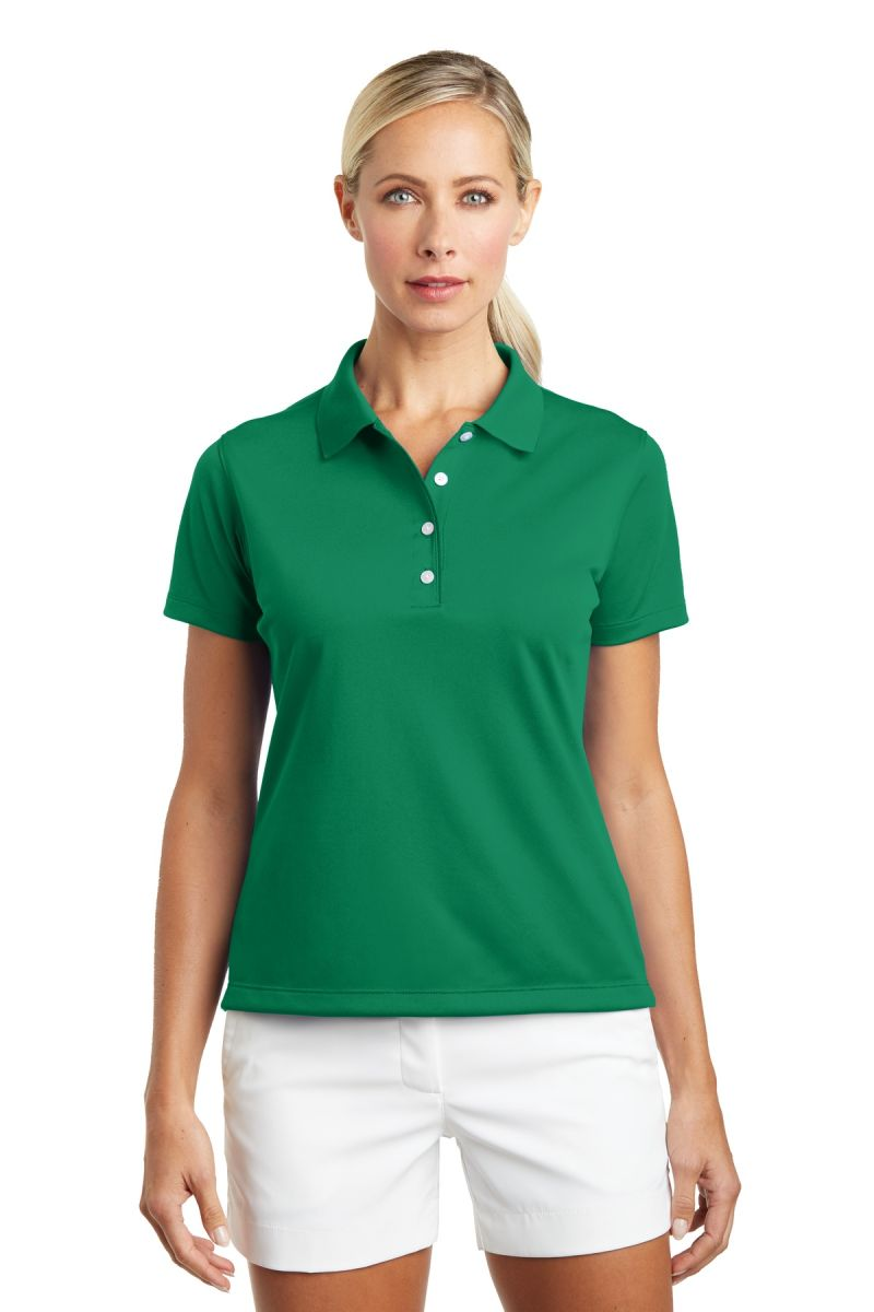 4d46955c ... Nike Golf Ladies Tech Basic Dri FIT Polo 203697 Lucky Green ...