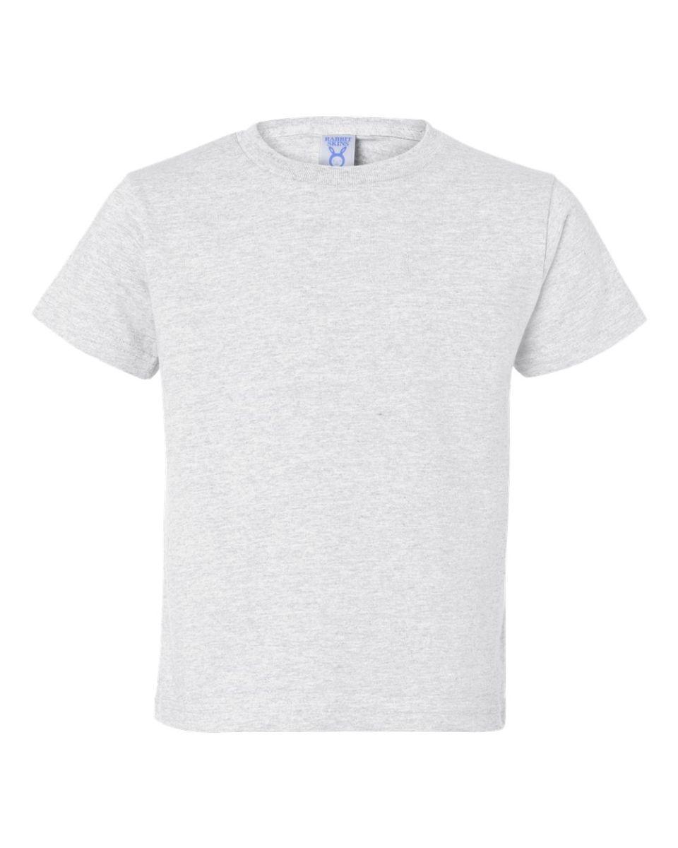 558454ad4 ... 3301T Rabbit Skins Toddler Cotton T-Shirt ASH ...