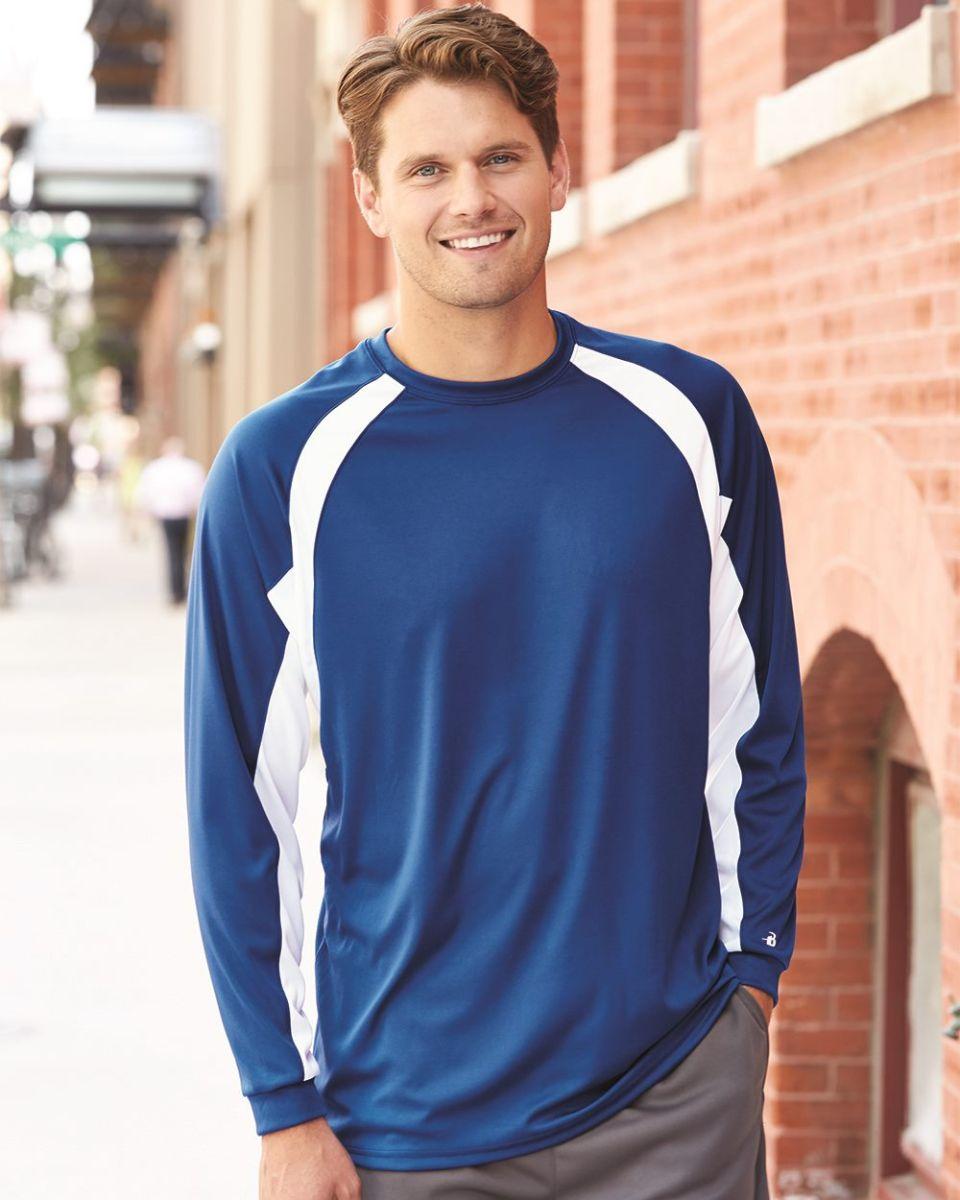 d52b48106 Badger 4154 B-Dry Core Hook Performance T-Shirt