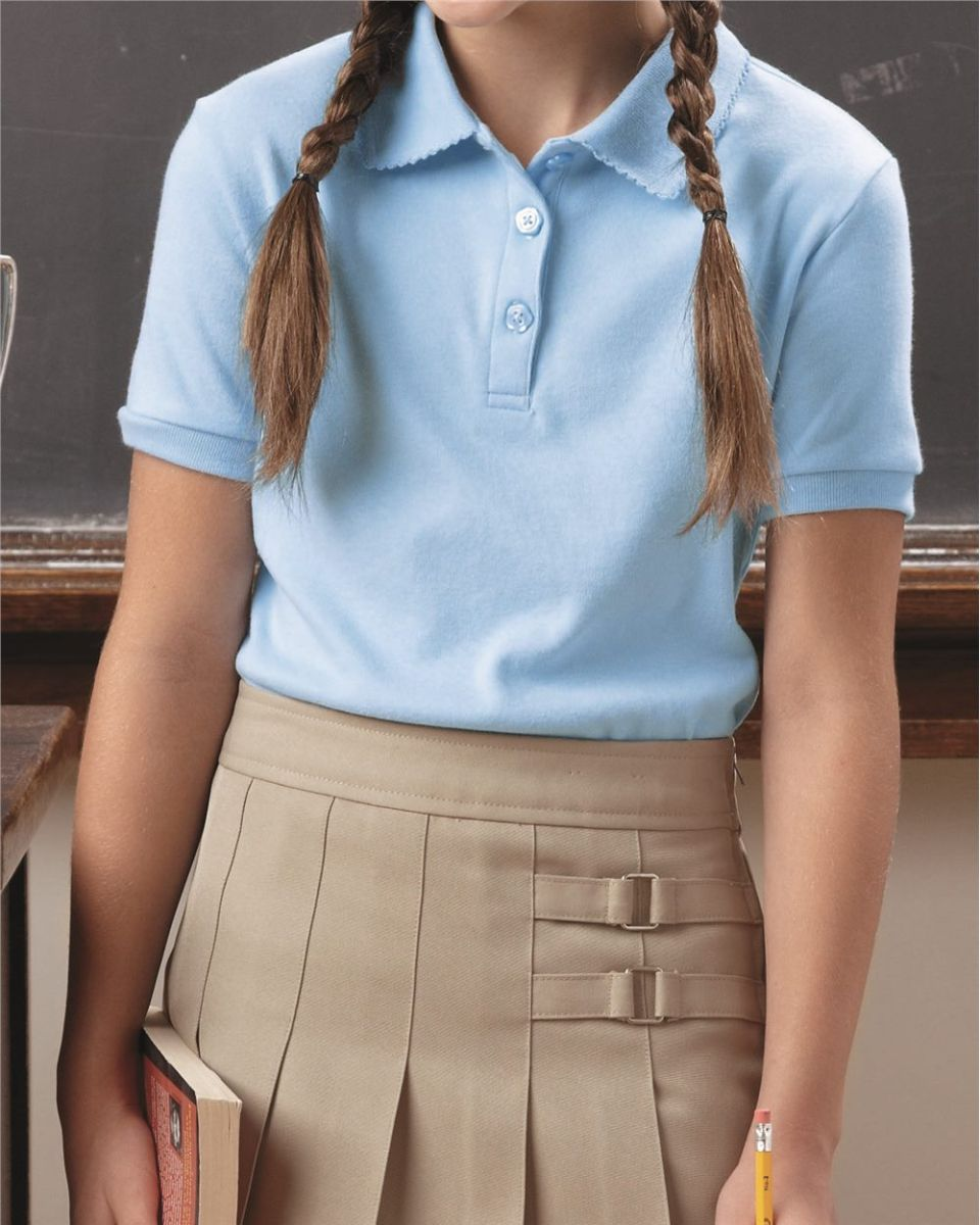 French Toast Girls Knit Polo