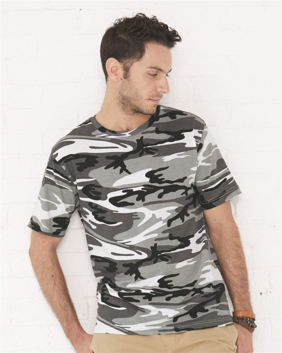 5c33d3a6170b6 Code V 3906 Adult Camouflage T-shirt