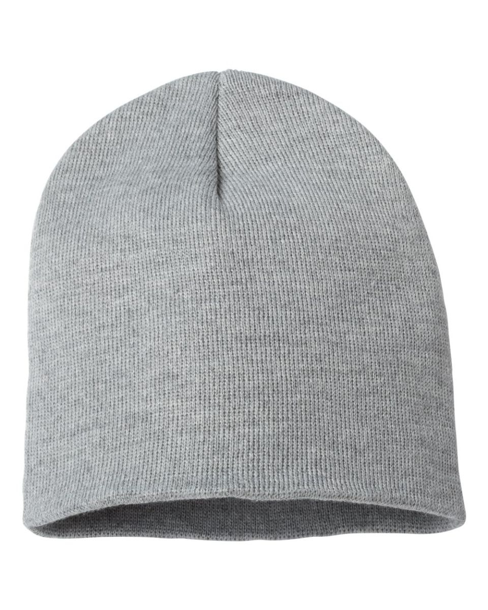 f9fd4c1386d ... SP08 Sportsman 8 Inch Knit Beanie Heather Grey ...