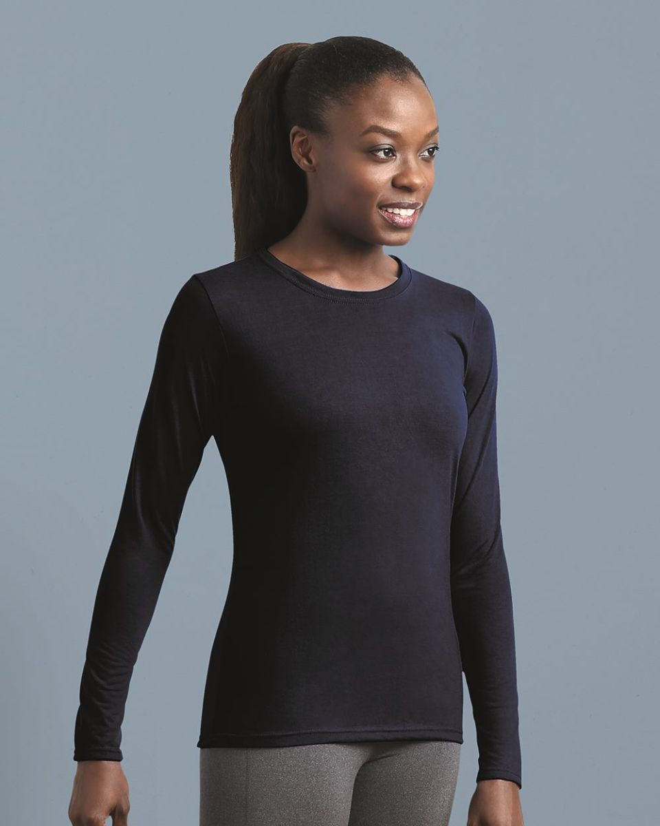 c16c2c7d9 42400L Gildan Ladies' Core Performance Long Sleeve T-Shirt