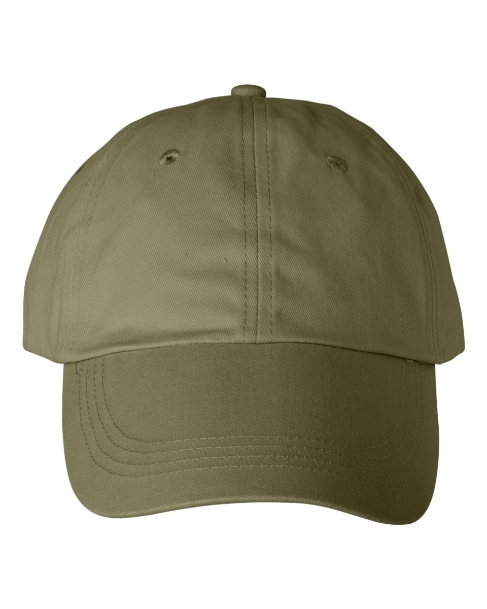 ... Anvil 176 Low-Profile Brushed Dad Hat Khaki  Wheat ... 59cd4dd2f78e