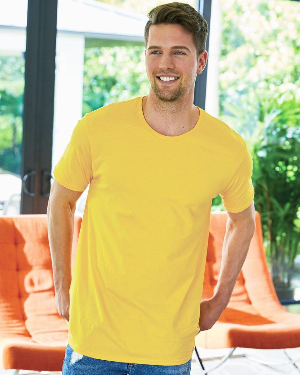 3e7616c5 4980 Hanes 4.5 ounce Ring-Spun T-shirt