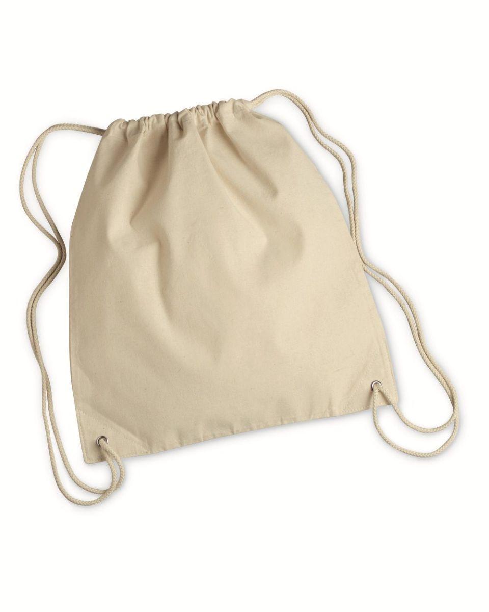 a71de32e7c0a 8875 Liberty Bags - Cotton Canvas Drawstring Backpack