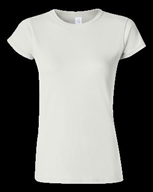 246004210b8d6a SoftStyle™ Ringspun T-Shirt WHITE ...